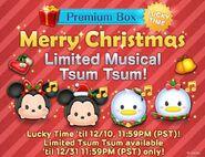 DisneyTsumTsum Lucky Time International Christmas2015 LineAd 20151209