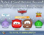 DisneyTsumTsum Lucky Time International Cars LineAd 20151113