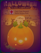 DisneyTsumTsum Events International Halloween2016 Card19Clear 201610