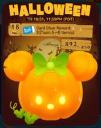 DisneyTsumTsum Events International Halloween2016 Card18Clear 201610