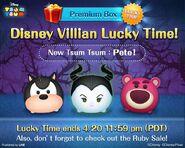 DisneyTsumTsum Lucky Time International Villains LineAd 20150417