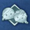 DisneyTsumTsum Pins Frozen Silver