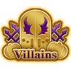 DisneyTsumTsum Pins Japan VillainsOctober2016 Gold