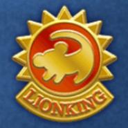 DisneyTsumTsum Pins LionKing Gold