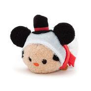 DisneyTsumTsum Plush SnowmanMickey euro 2016 MiniFront
