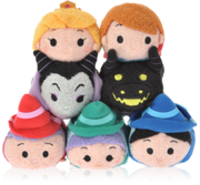 DisneyTsumTsum PlushSet SleepingBeauty jpn 2016 Mini