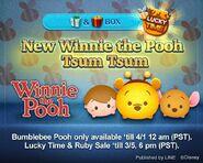 DisneyTsumTsum Lucky Time International WinnieThePooh LineAd 20150318