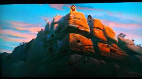 The Lion King 2 Zira`s Death