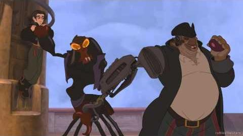 Treasure Planet - Got Something to hide bright-eyes? (Blu-Ray)