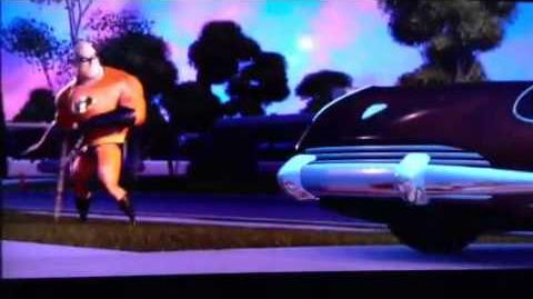 Syndrome's Death from the Incredibles