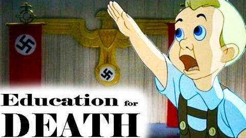 Education for Death The Making of the Nazi (1943) - WW2 Animated Propaganda Film by Walt Disney