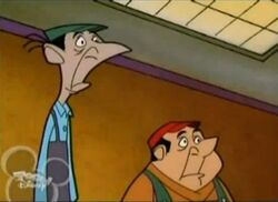 Jasper and Horace in the TV series