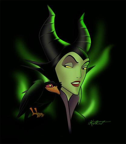 File:Maleficent by Katikut.jpg
