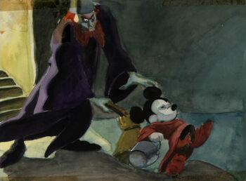 Sorceror Mickey Concept Art 38