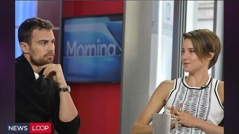 Shailene Woodley, Theo James Begin 'Insurgent'