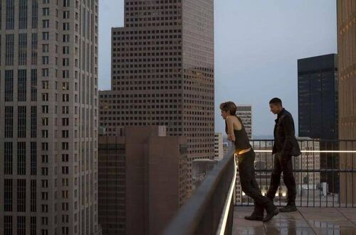 Tris and Uriah Plan Insurgent