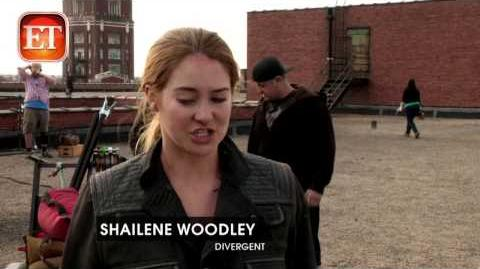The Divergent Life ETOnline Kate Winslet as Jeanine Matthews Behind the Scenes of Divergent1)