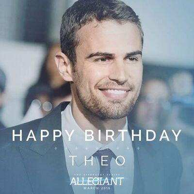 Happy Birthday Theo