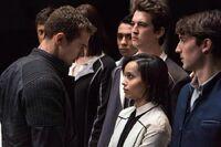 Divergent four+initiates