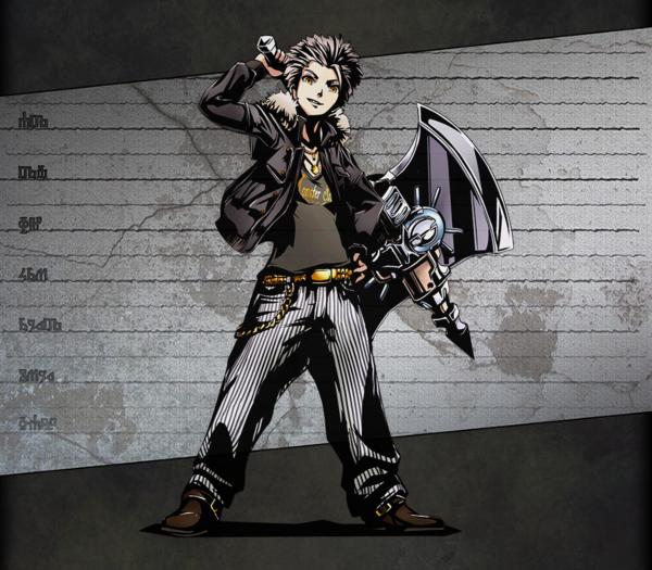ID:022 斧士ギンジ