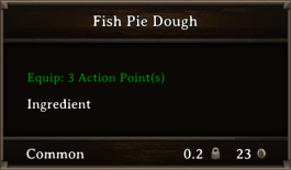DOS Items FnD Fish Pie Dough