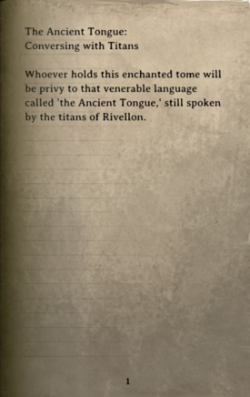 DOS Items Books Titan Dictionary Page