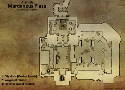 Mardaneus Plaza map (D2 EG location)