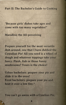 DOS Items Books Crafting and Cooking with Maradino Page4