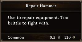 DOS Items Tools Repair Hammer