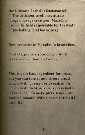 DOS Items Books Crafting and Cooking with Maradino Page5