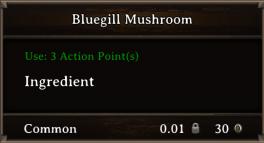 DOS Items CFT Bluegill Mushroom