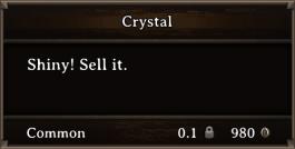 DOS Items Precious Crystal