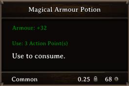 DOS Items Pots Magical Armour Potion 1