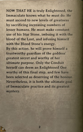 DOS Items Books Book of the Immaculates V Page2