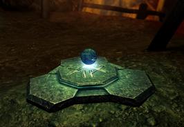 Divinity 2 High Hall Mines magical rune on portal shrine