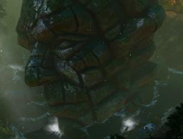 DOS Quest A Forge of Souls - Titan Head