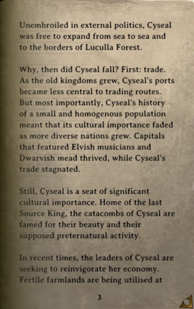 DOS Items Books The History of Cyseal Page3
