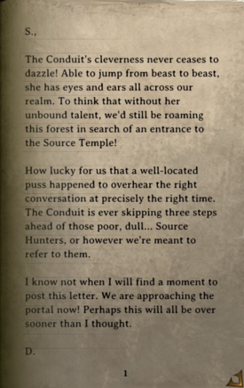 DOS Items Books Letter (Source Temple) Page1