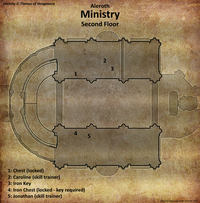 Ministry map second floor (D2 FoV location)