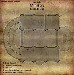 Ministry map second floor (D2 FoV location)