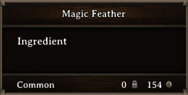 DOS Items CFT Magic Feather