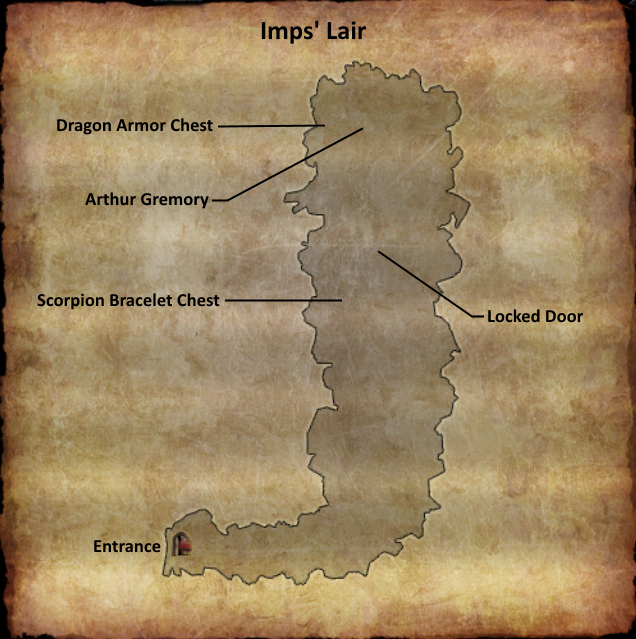 Divinity 2 Imps Lair map