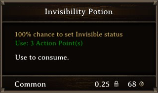 DOS Items Pots Invisibility Potion 1 Stats