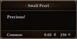 DOS Items Precious Small Pearl