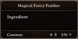 DOS Items CFT Magical Fancy Feather