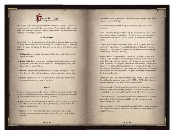 DOS Game Manual Page 7
