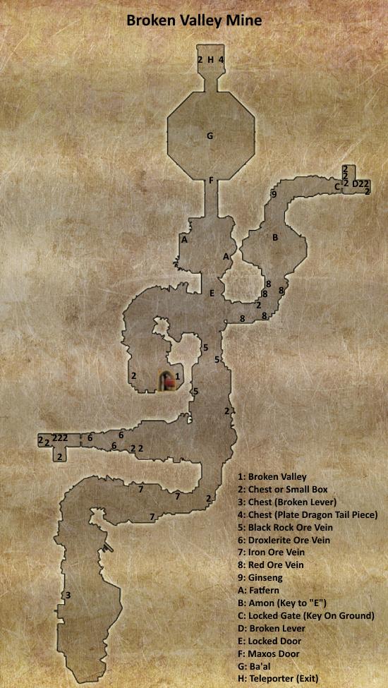 Divinity 2 Broken Valley Mine map