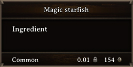 DOS Items CFT Magic Starfish