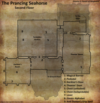 Prancing Seahorse second floor map (D2 FoV location)