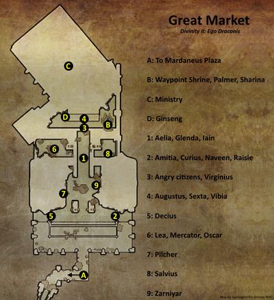 Great Market map (D2 EG location)